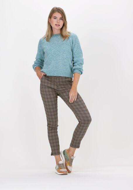 Bruine MINUS Pantalon NEW CARMA CHECK 7/8 PANTS - large