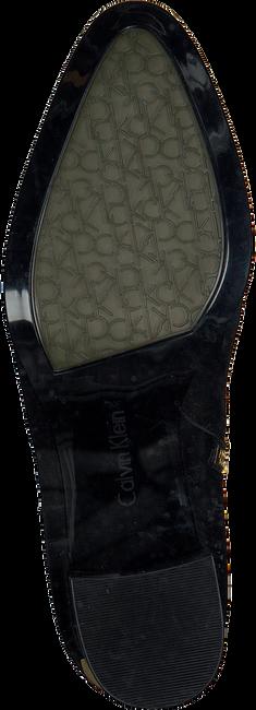 Zwarte CALVIN KLEIN Enkellaarsjes E5741  - large