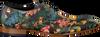 Multi MASCOLORI Nette schoenen BIRDS IN PARADISE - small
