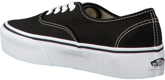 Zwarte VANS Sneakers AUTHENTIC PLATFORM WMN  - large