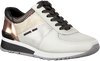Witte MICHAEL KORS Lage sneakers ALLIE WRAP TRAINER  - small