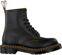 Zwarte DR MARTENS Veterboots 1460 DS  - medium