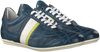 Blauwe CYCLEUR DE LUXE Lage sneakers CRUSH CITY  - small