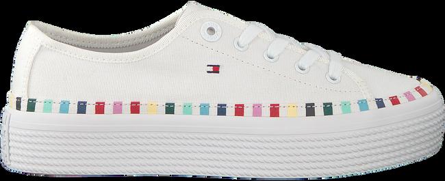 Witte TOMMY HILFIGER Sneakers RAINBOW PLATFORM  - large