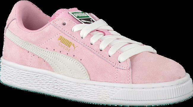 Roze PUMA Sneakers SUEDE JR - large