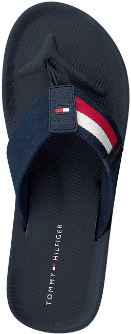 Blauwe TOMMY HILFIGER Slippers SPORTY CORPORATE BEACH  - large