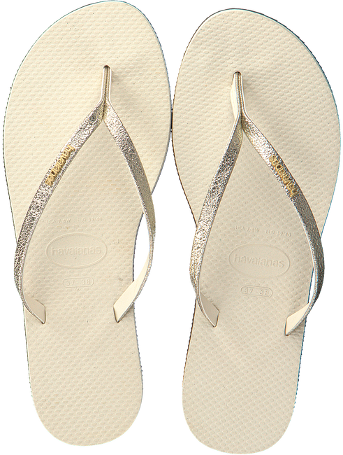 Beige HAVAIANAS Teenslippers YOU SHINE  - large