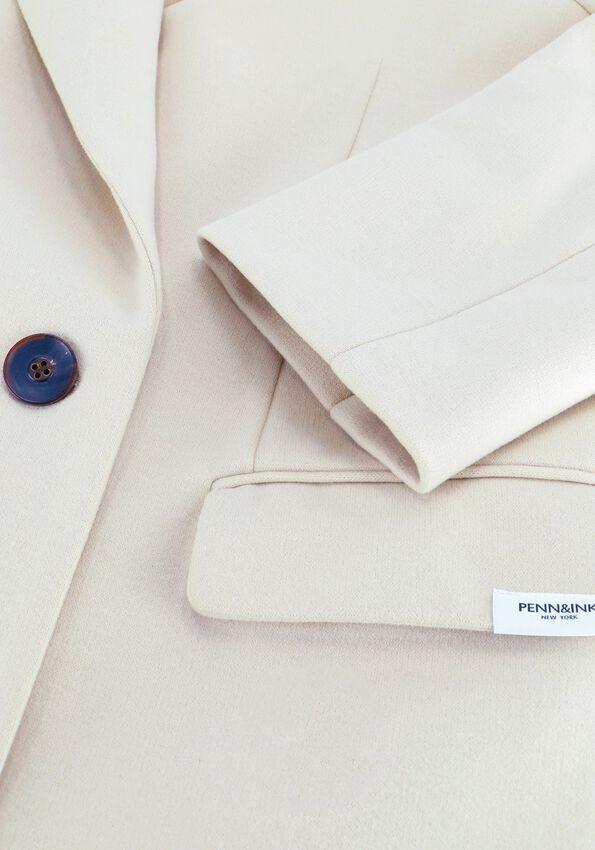 Beige PENN & INK Mantel W21N1026  - larger