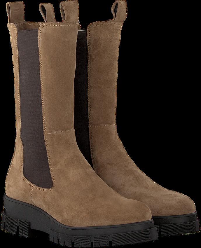 Camel NOTRE-V Chelsea boots KIM - larger