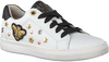 Witte BRAQEEZ Sneakers LEXI LOUWIES  - small