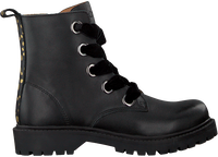Zwarte OMODA Veterboots OM120999  - medium