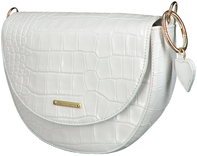 Witte FABIENNE CHAPOT Schoudertas PHILINE BAG  - large