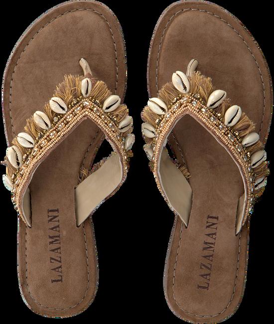 Bruine LAZAMANI Slippers 75.674  - large