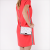 Witte MICHAEL KORS Clutch MD GUSSET CLUTCH - small