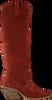 Rode BRONX Lange laarzen LOW-KOLE 14188  - small