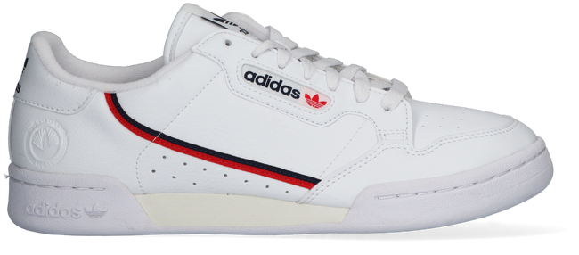 Witte ADIDAS Lage sneakers CONTINENTAL 80 VEGA  - large