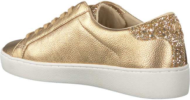 Gouden MICHAEL KORS Sneakers IRVING LACE UP - large