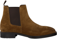 Cognac SCOTCH & SODA Chelsea boots PICARO  - medium