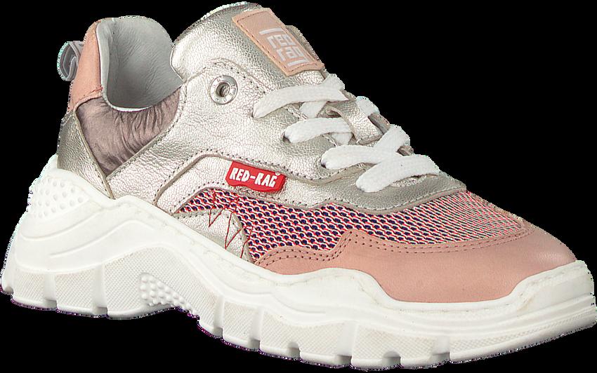 Zilveren RED-RAG Lage sneakers 13282  - larger