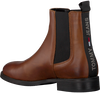 Cognac TOMMY HILFIGER Chelsea boots ESSENTIAL DRESSED  - small