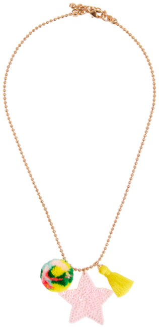 Gouden LE BIG Ketting SELDA NECKLACE  - large