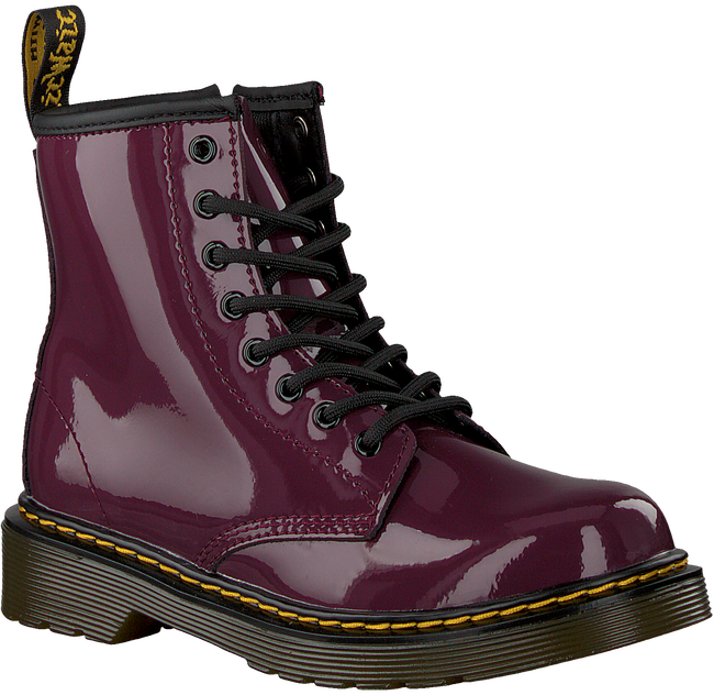 Paarse DR MARTENS Veterboots 1460 PATENT J  - large