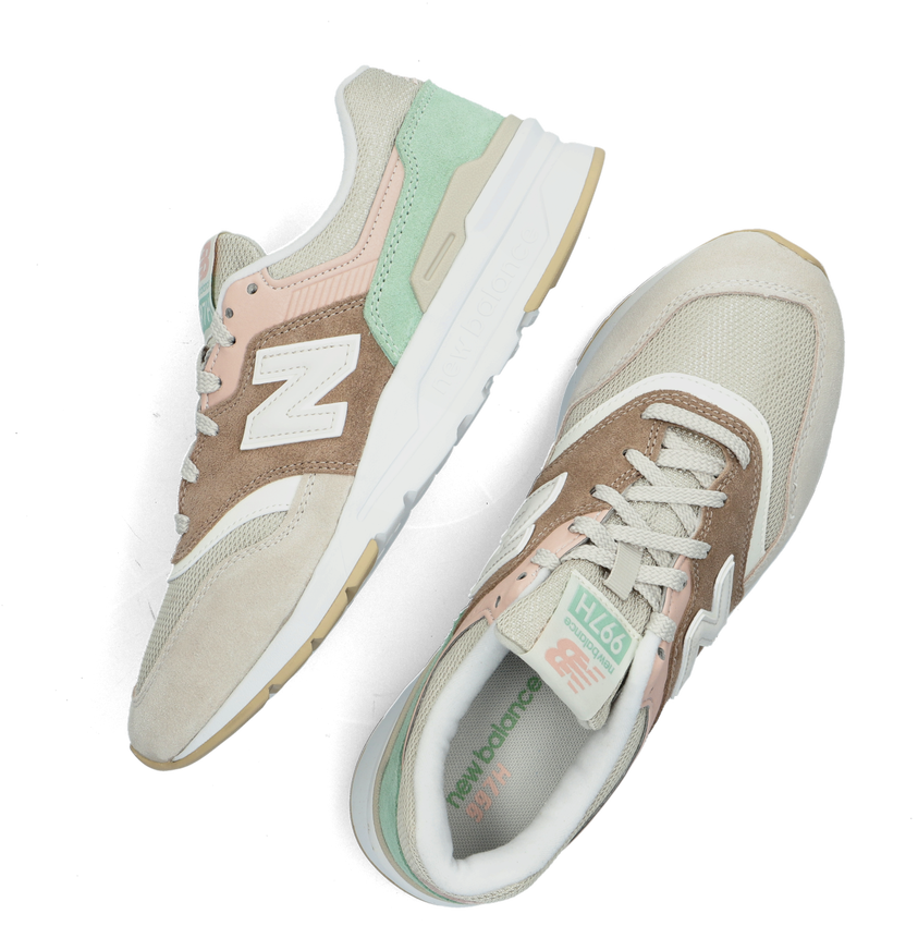 Bruine NEW BALANCE Lage sneakers CW997  - larger