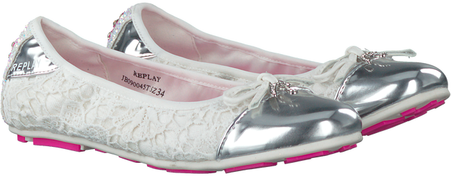Witte REPLAY Ballerina's SANDY  - large