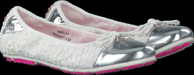 Witte REPLAY Ballerina's SANDY  - large