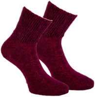 Rode MARCMARCS Sokken ALEXIA - medium