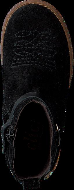 Zwarte CLIC! Enkellaarsjes 9202  - large