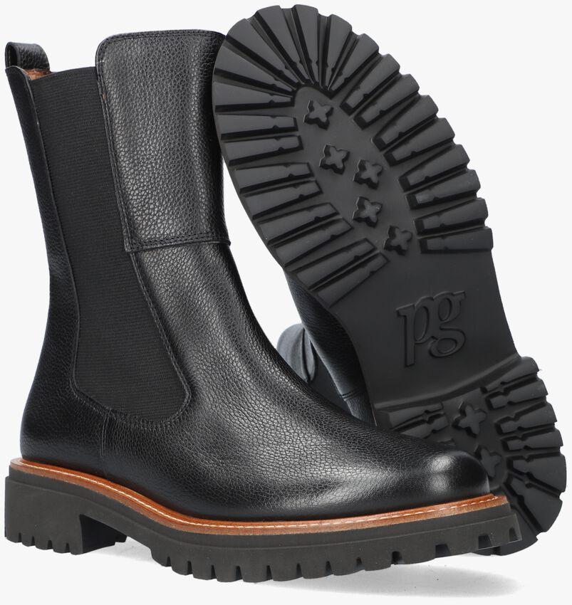 Zwarte PAUL GREEN Chelsea boots 9836  - larger