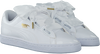Witte PUMA Sneakers BASKET HEART PATENT  - small