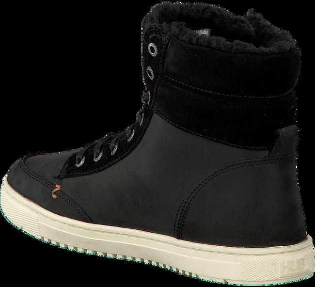 Zwarte HUB Sneakers MILLENNIUM  - large