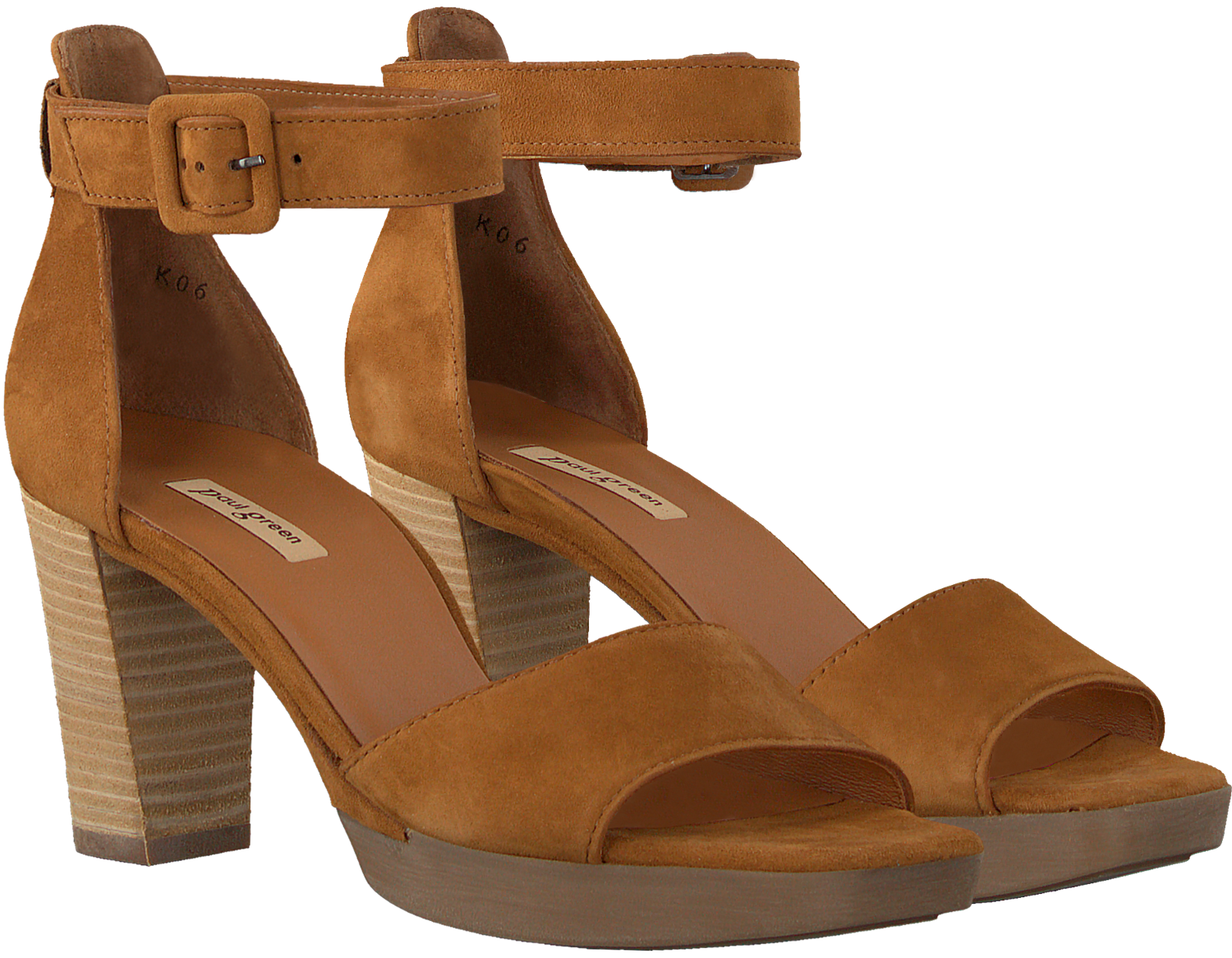 Cognac PAUL GREEN Sandalen 7618