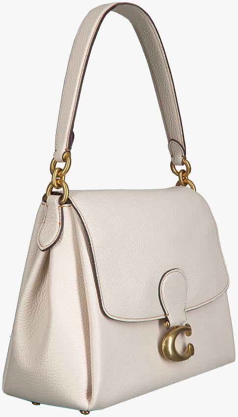 Witte COACH Schoudertas MAY SHOULDER BAG - larger