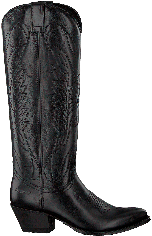 Zwarte SENDRA Cowboylaarzen 9077 | Omoda