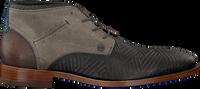 Grijze REHAB Nette schoenen SALVADOR ZIG ZAG - medium