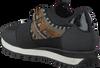 Zwarte LOLA CRUZ Sneakers 301Z04BK  - small