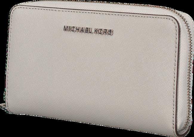 Grijze MICHAEL KORS Portemonnee LG FLAT MF PHONE CASE - large