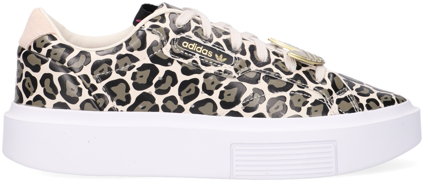 Beige ADIDAS Lage sneakers SLEEK SUPER - larger