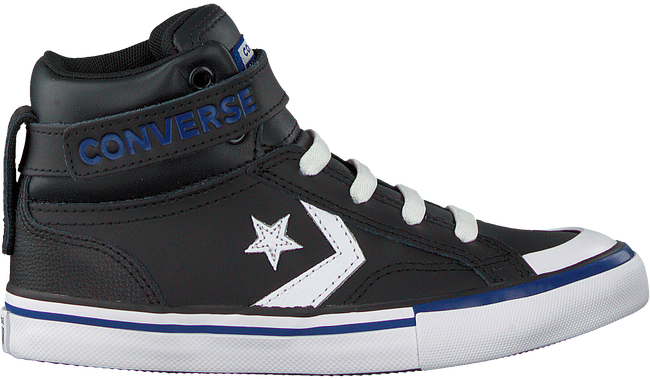 Zwarte CONVERSE Hoge sneaker PRO BLAZE STRAP HI KIDS  - large