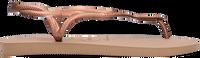 Gouden HAVAIANAS Slippers LUNA  - medium