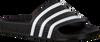 Zwarte ADIDAS Slippers ADILETTE DAMES  - small