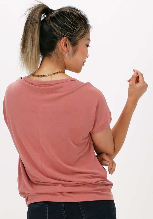 Perzik MSCH COPENHAGEN T-shirt FENYA MODAL TEE - larger