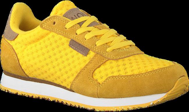 Gele WODEN Lage sneakers YDUN SUEDE MESH  - large