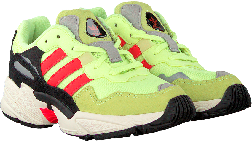 Gele ADIDAS Sneakers YUNG-96 J  - larger