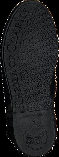 Zwarte KARMA OF CHARME Enkellaarsjes CAV - large
