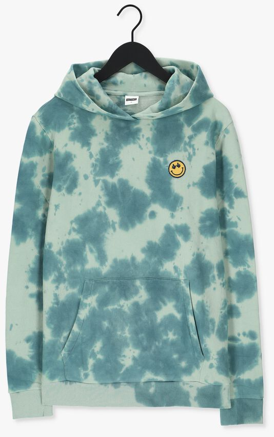 Blauwe KULTIVATE Sweater SW SMILE DYE - larger