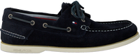 Blauwe TOMMY HILFIGER Veterschoenen CLASSIC BOATSHOE  - medium
